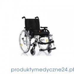 Silver wózek inwalidzki wykonany ze stopów lekkich