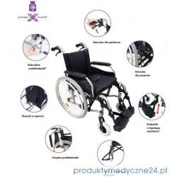 Wózek inwalidzki aluminiowy AR-330 Dynamic Standard
