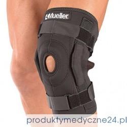 Owijany zawiasowy stabilizator kolana Mueller