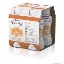 Resource 2.0 – preparat odżywczy w płynie, 4x200 ml