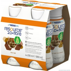 Resource 2.0+Fibre – preparat odżywczy w płynie, 4x200 ml