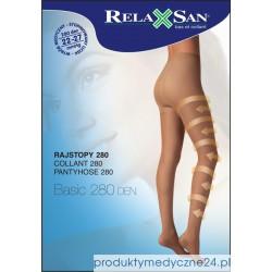 Rajstopy medyczne RelaxSan 280 DEN, ucisk 22-27 mmHg art. 980