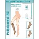 Podkolanówki medyczne Relaxsan II Klasa Ucisku 23-32 mmHg - Linia Soft M2150
